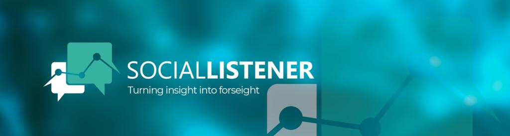 Social Listener banner